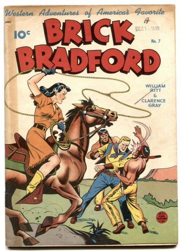 Brick Bradford #7-ALEX SCHOMBURG COVER- -FN+