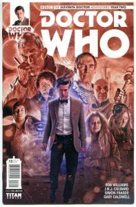 DOCTOR WHO #13 B, NM, 11th, Tardis, 2015, Titan, 1st, more DW in store, Sci-fi