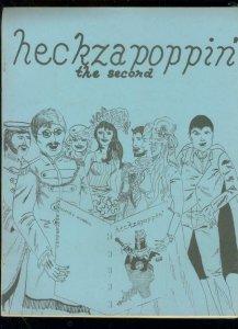 HECKZAPOPPIN' COMIC FANZINE #2-DECDLINE OF THE AVENGERS FN