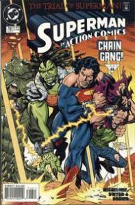 1995 DC Comics Action Comics #716 Superman