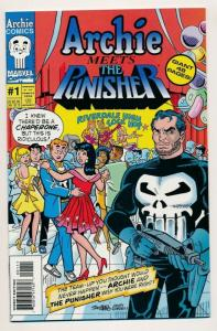 Archie/Marvel Comics ~ ARCHIE Meets the PUNISHER #1 1994 ~ NM (PF379)