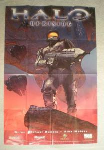 HALO UPRISING Promo Poster, 24x36, 2006, Unused, more in our store