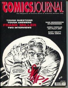 Comics Journal #209 1998-Fantagraphics-Frank Miller-Sam Henderson-VF