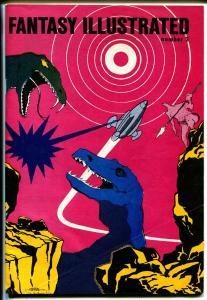 Fantasy Illustrated #2 1964-historic fanzine-Adam Lik-Binder & Barry-VF