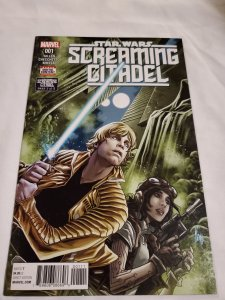 Star Wars The Screaming Citadel 1 Near Mint Cover by Marco Checchetto