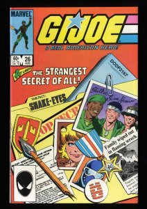 G.I. Joe, A Real American Hero #26 VF/NM 9.0 Origin Snake Eyes!