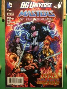 DC Universe vs Masters of the Universe #4