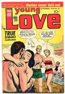 Young Love #61 1954- Golden Age Romance Comics-  VG/FN