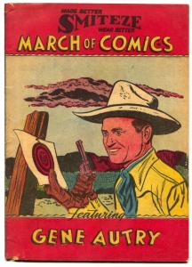 March of Comics #78 1951- GENE AUTRY- Lost Gold of Chigaroo VG+