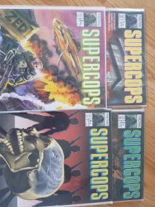 SuperCops No.1 - No. 4 Now Comics