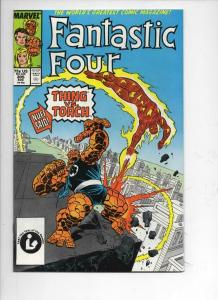 FANTASTIC FOUR #305 VF/NM Torch vs Thing, Buscema, 1961 1987 Marvel