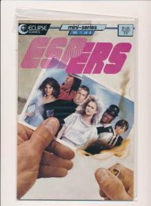 Eclipse Comics ESPers #1-5 (1,2,3,4,5) mini-series (1986) ~ VF (PF175) 5 comics