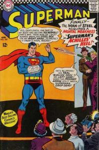 Superman (1939 series) #185, VG+ (Stock photo)