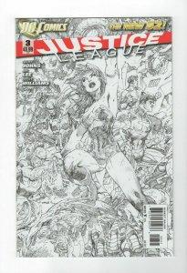 Justice League #3 2011 Jim Lee Wonder Woman Sketch and Color Variant Set NM.