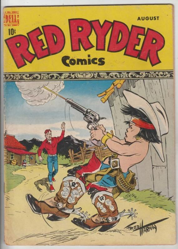 Red Ryder Comics #61 (Aug-48) FN+ Mid-High-Grade Red Ryder