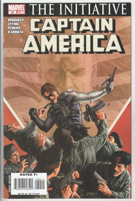 Captain America #30 (Sep-07) NM Super-High-Grade Captain America