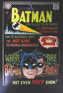 Batman (1940 series) #184, VG (Actual scan)