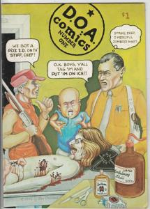 D.O.A. Comics #1 (Jan-76) VF High-Grade
