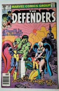 The Defenders #89 (1980) Marvel Comic Book J757