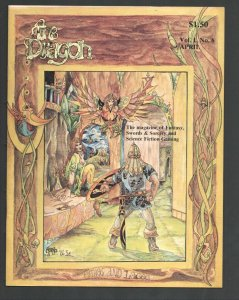 Dragon #6 4/1976-Fantasy cover by Morno-Fantasy-Swords & Sorcery and Science ...