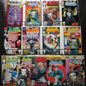 Punisher Reader's Lot of 13Diff Vigilante Justice in the Marvel Universe!