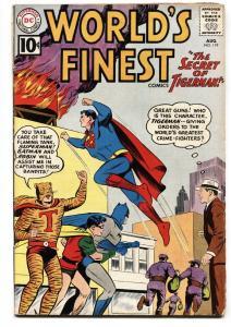 WORLDS FINEST #119 comic book 1961-BATMAN-SUPERMAN-DC  VG-