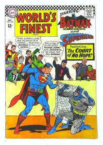 World's Finest Comics #163, VF- (Actual scan)