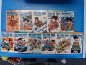 Japanese Manga Dragon Ball Vol 2-9 11-13