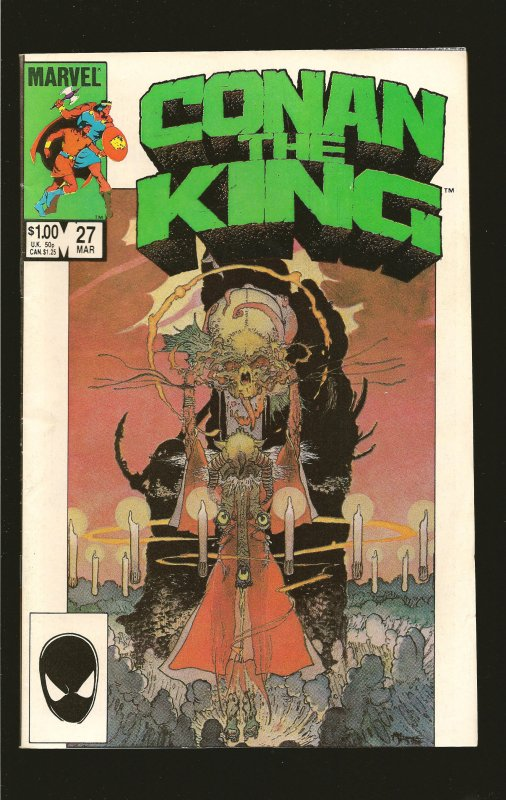 Marvel Comics Conan the King #27 (1985)