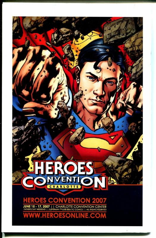 Heroes Convention Program Book 2006-Captain America-FN/VF
