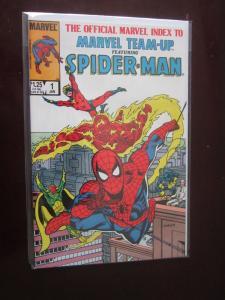 Official Marvel Index to Marvel Team-Up #1 - VF - 1986