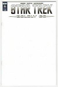 Star Trek Boldly Go #1 Blank Sketch Variant Cvr (IDW, 2016) NM