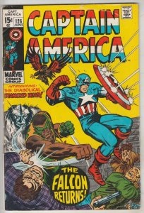 Captain America #126 (Jun-70)  High-Grade Captain America