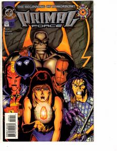 Lot Of 3 Primal Force DC Comic Books # 0 1 2 Modern Age Series Red Tornado J210