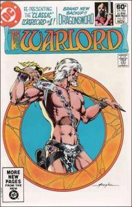 DC WARLORD (1976 Series) #51 VF