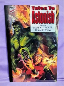 Peter David Avengers TALES TO ASTONISH Hulk Wasp John Estes (Marvel, 1994)!
