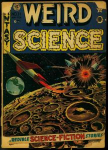 Weird Science #11 1952- EC Comics- Feldstein- Kamen FAIR
