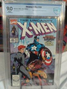 Uncanny X-Men #268 - CBCS 9.0 - VF/NM - White Pages - Classic Team Up