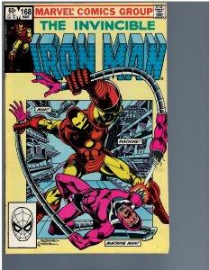 Iron Man #168 (1983)