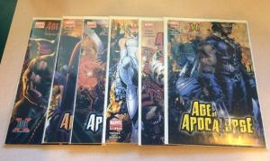 Age Of Apocalypse 1-6 Missing 4 Near Mint Lot Set Run