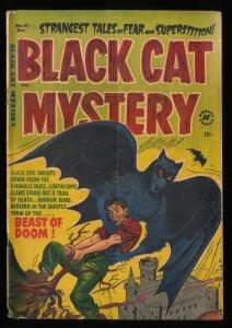 Black Cat Mystery #41 GD/VG 3.0