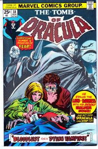 Tomb of Dracula(vol. 1) # 38  Helpless Before a Silver Dagger