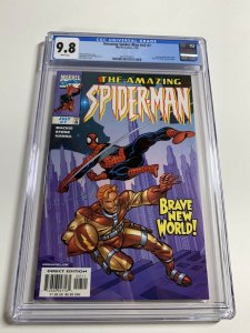 Amazing Spider-man V Vol Volume 2 # 7 Cgc 9.8 025 White Pages Marvel Legacy #448