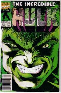 Incredible Hulk   vol. 1   #379 FN/VF David/Keown, Prometheus, Ajax