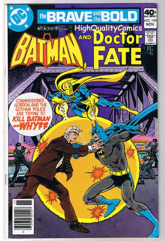 BRAVE and the BOLD #156, VF, Batman, Doctor Fate, 1955, more in store