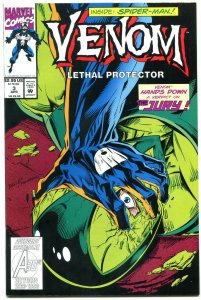 Venom: Lethal Protector #3 1993 - Spider-man- Marvel NM-