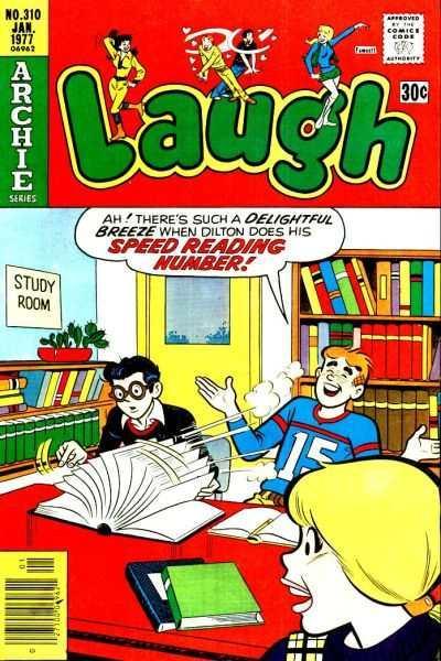 Laugh Comics #310, Fine- (Stock photo)
