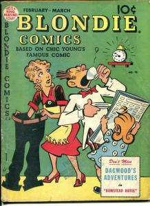 Blondie # 10 1949-Dell-Chic Young art-VG-