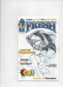 FRESH #1, VF, Ashcan Size publication, SHI, William Tucci, Orca, 2000, rare HTF