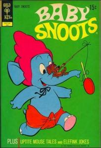 Baby Snoots #8 VG; Gold Key | low grade comic - save on shipping - details insid